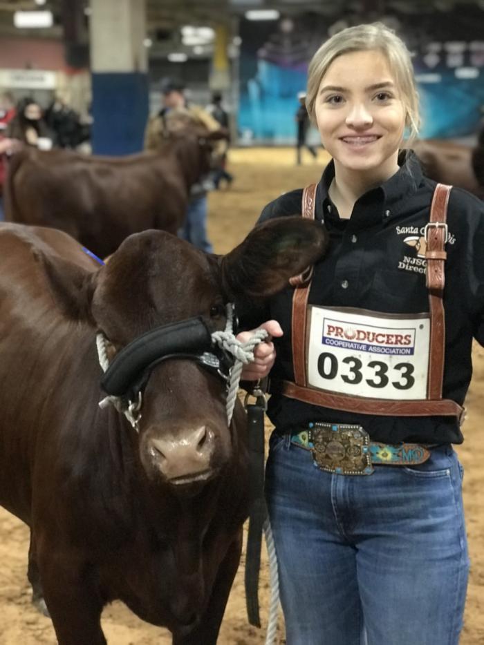 Cowgirls in Cowtown Junior Heifer Show