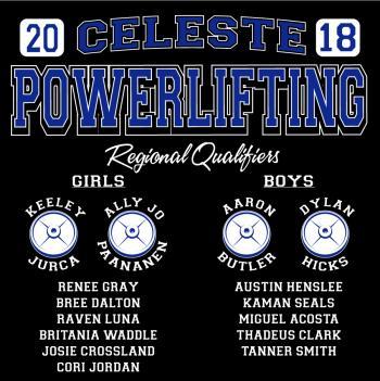 2018 Powerlifting Shirt_Back