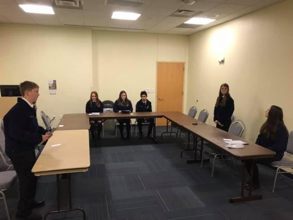 FFA Fall Leadership Contest Results