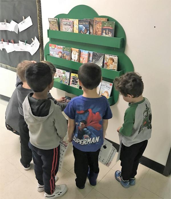 Elementary Bookshelf Tree