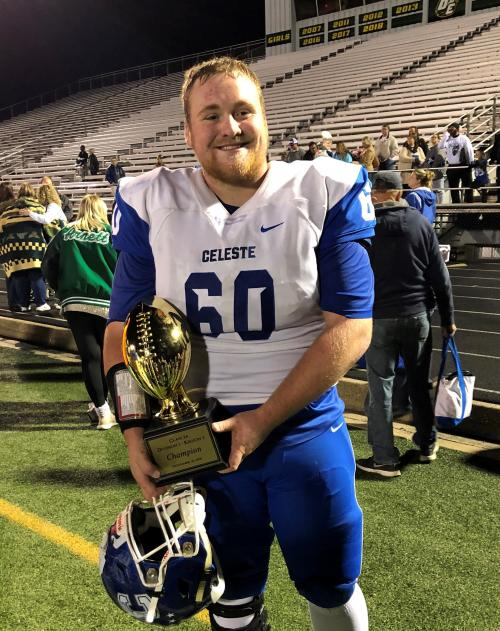 Dylan Hicks All State Football honor