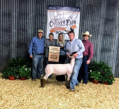 Hunt County Fair 2019 - Lambs
