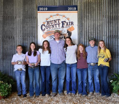 Hunt County Fair 2019 - Livestock Judging