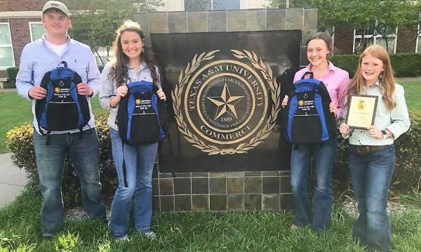State Bound Livestock Judging Team