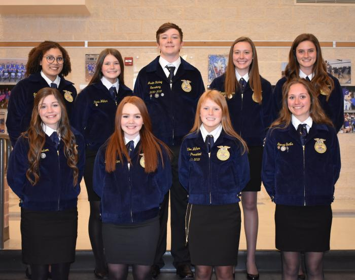 FFA Officers 2020-2021