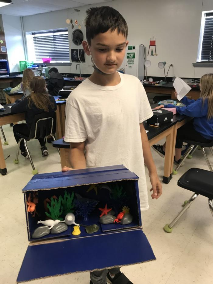 Students Present on Biomes of the World