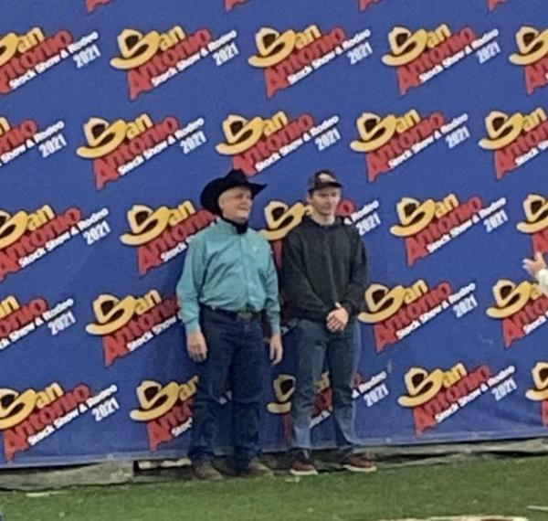 Vidler Wins First Place and Chairman's Award at San Antonio Ag Mech Show