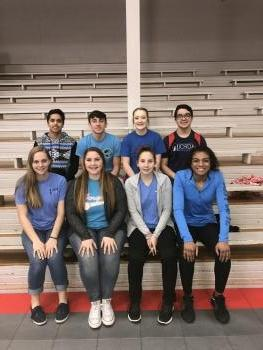 StuCo officer wear blue for Blad