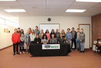 Destiny signs with SCCC
