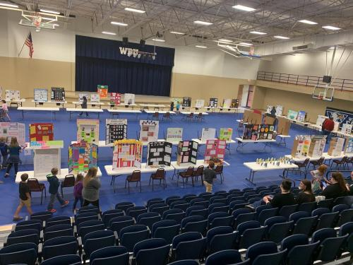 NEA Education Cooperative Annual K-6 Regional Elementary Science Fair Photo