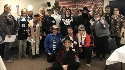 Northeast Arkansas Education Cooperative Employee at 2017 Christmas Party