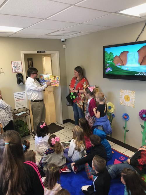 Community Project with Walnut Ridge Elementary Students