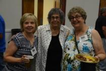 Dana Kay Testa Rich,1969,  Suzanne Heard, 1956, & Louise Sensibaugh West, 1964