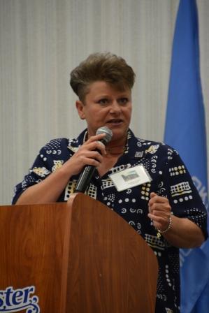 Brandi Kirkes, speaker