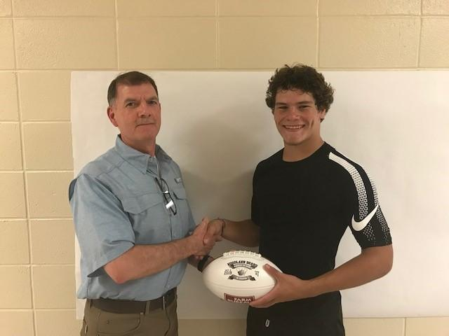 Farm Bureau Player of the Game - Jaydon Manes