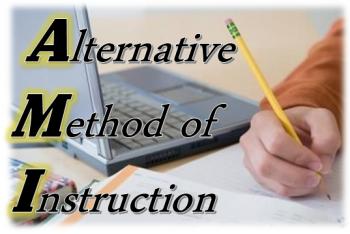 Alternative Method of Instruction