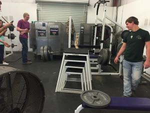 The Ultimate Bridge destroying the weight bar