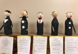 We had so much fun learning about the Presidents and creating President Pop Bottles People