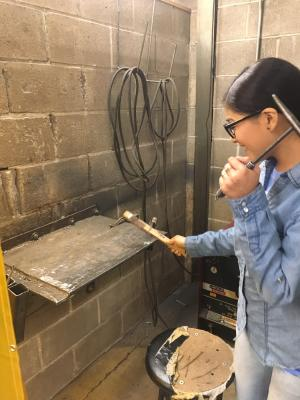 Girls can weld too!