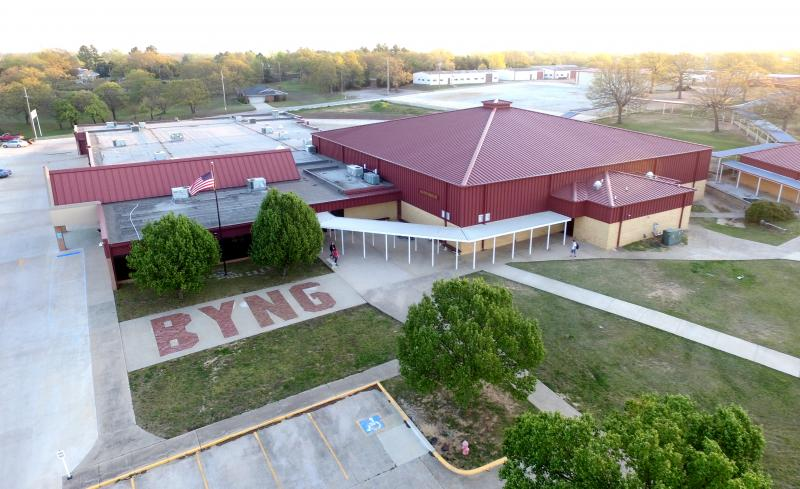 Landscape View facing Byng High School