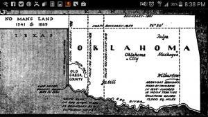 Okla map
