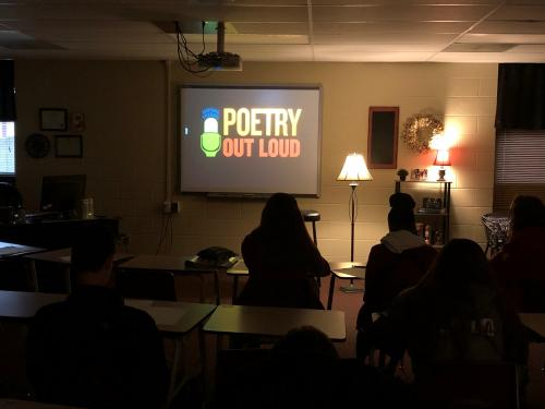 Poetry Out Loud 9th grade competition