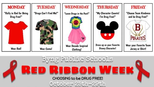 2021 Red Ribbon Dress Up Days