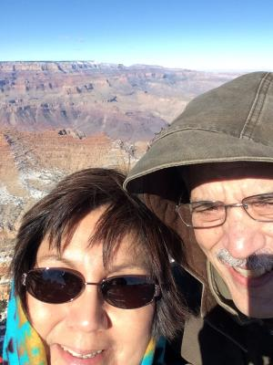 Freezing at the Grand Canyon!
