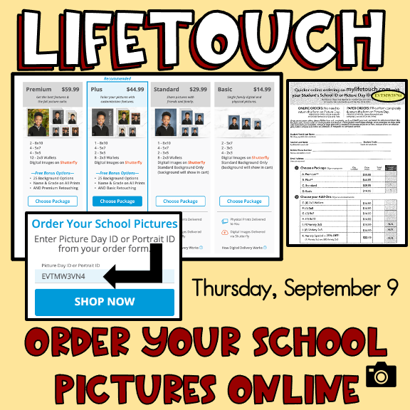Click on the image to go to My Lifetouch website.