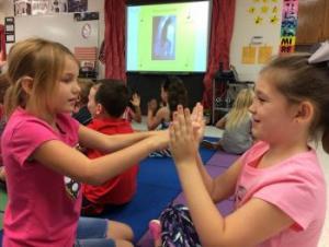 2nd grade partner claps