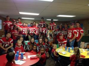 Electra Tigers visit Head Start!