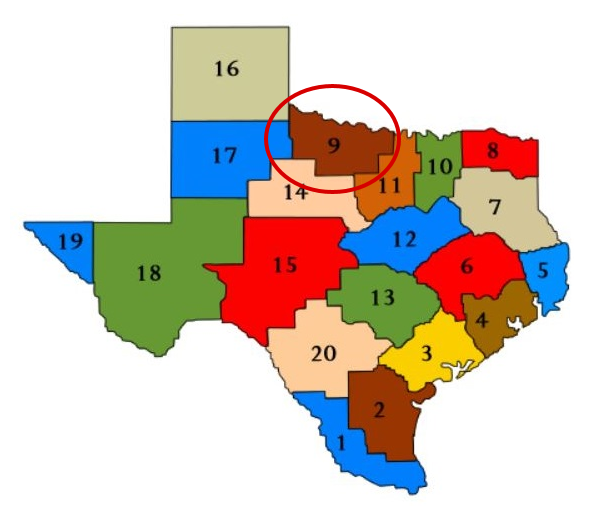 Texas System of Education Service Centers