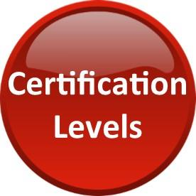 Certification Levels