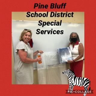 SPED Support Pine Bluff School