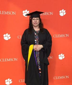 Clemson University graduation