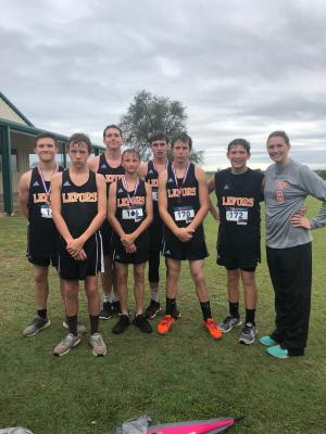 Boys Cross Country at District
