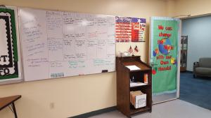 ASL Class Objective and Agenda Board