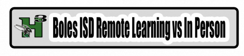 COVID-19 Remote Learning Plan vs In Person