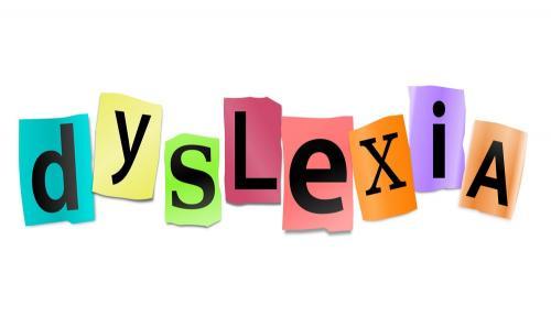 Dyslexia Word Image