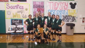 Volleyball Tournament 1st Place