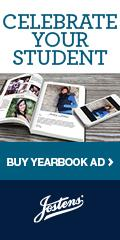 Celebrate your student. Buy yearbook ad.