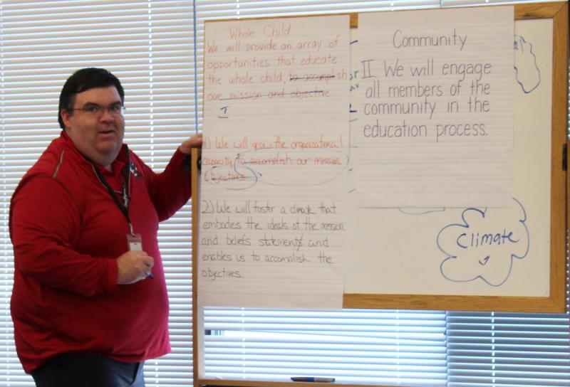 Community members asked to contribute ideas to develop USD 413's Strategic Plan