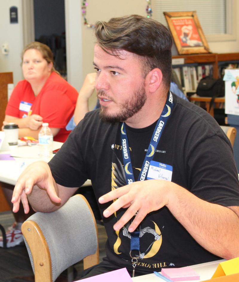 Volunteers begin developing USD 413 strategic plan