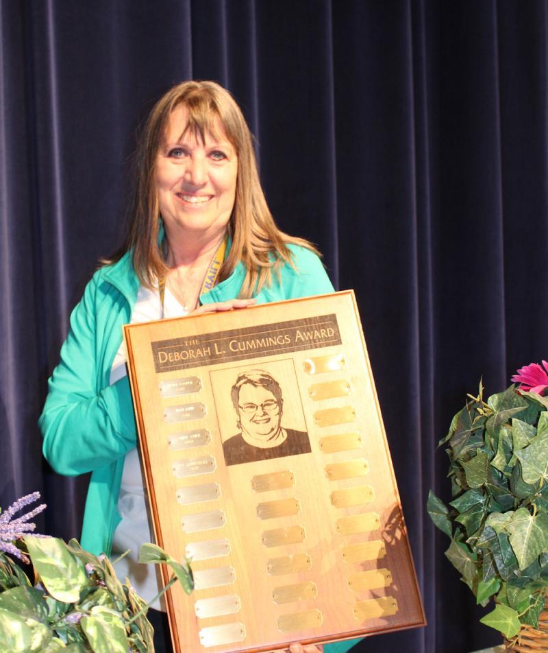 District's 'Data Queen' receives USD 413 Deborah Cummings Award