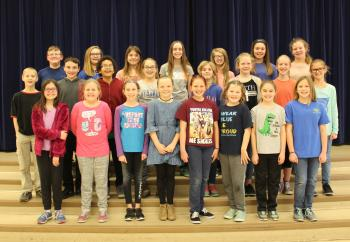 CEs Honor choir