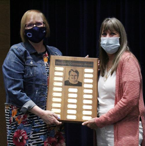 Karen Graham is district's cummings award winner
