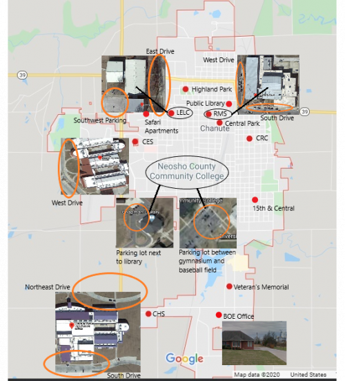 map of wifi locations in chanute