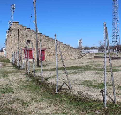 fence removed surrounding royster stadium