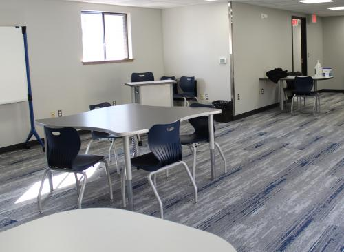 new classroom in extension academy