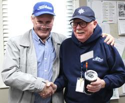 McKinney gives award to David DeWeese